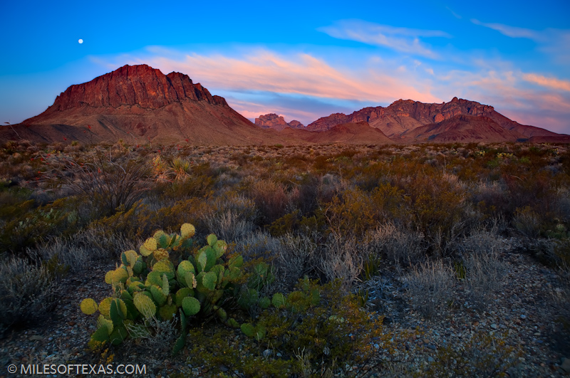 Big Bend National Park - Chisos Mountains Sunrise